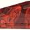 Thumbnail: B&M Shifter Cover Red Hades Skulls Hydro dipped