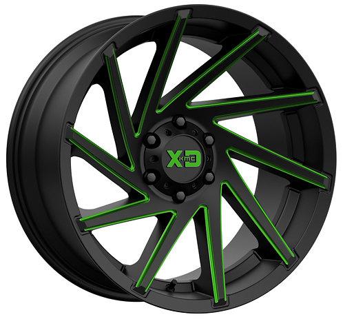 XD834 CYCLONE GREEN TRANSLUCENT