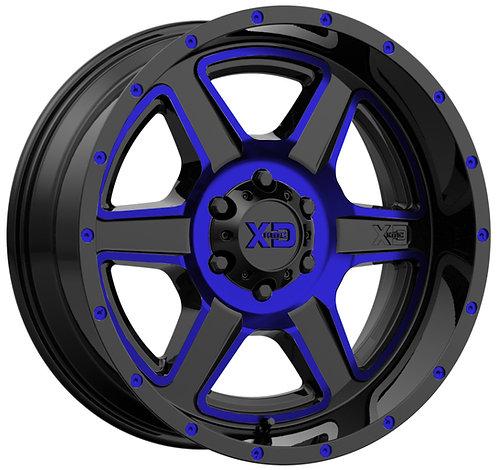 XD832 FUSION BLUE TRANSLUCENT