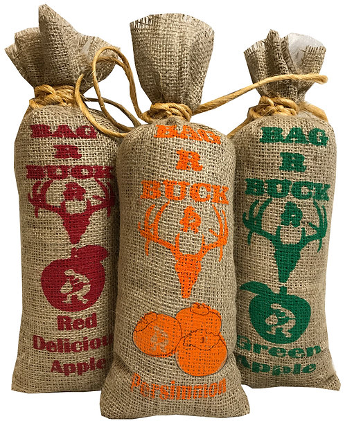 Apple & Persimmon Three Flavor Combo Packer Bags