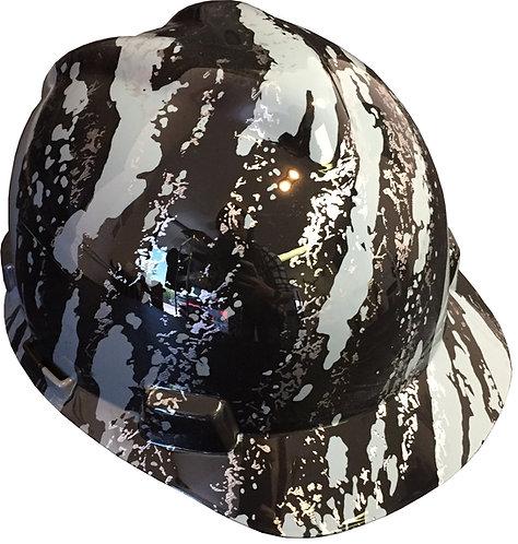 MSA V Guard Cap Style Grey Marble Splash
