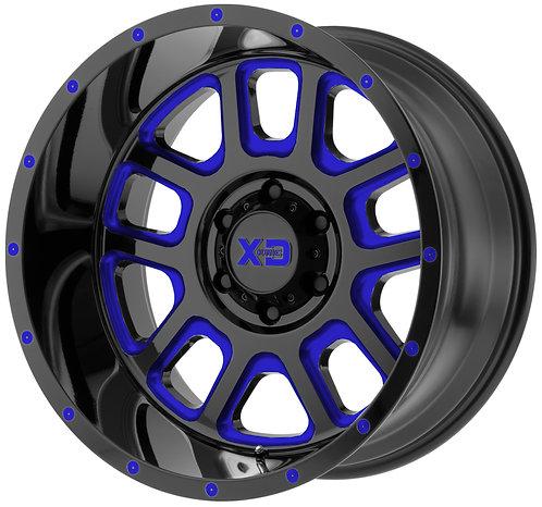 XD828 DELTA BLUE TRANSLUCENT