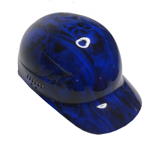 Blue No Evil Skulls Bump Cap