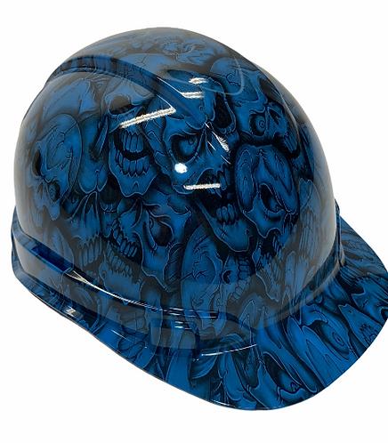 Light Blue Insanity Skulls Ridgeline Cap Style