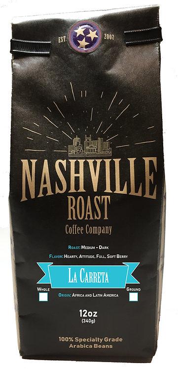 Nashville Roast Coffee Company La Correta, Ground, 12 Oz Bag