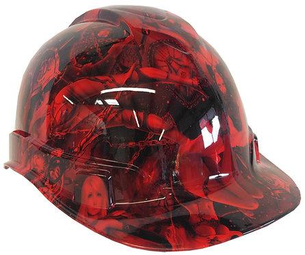 Red Fantasy World Hard Hat