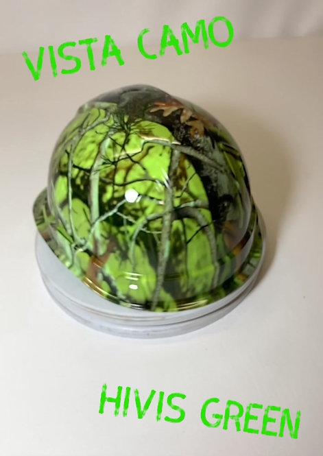 Ridgeline Cap Style hi Vis Green Vista Camo