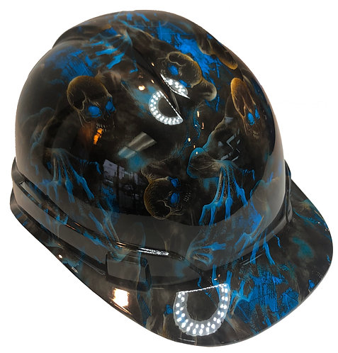 Blue Creeper High Gloss Ridgeline Cap Style
