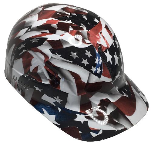 American Flag Bump Cap High Gloss