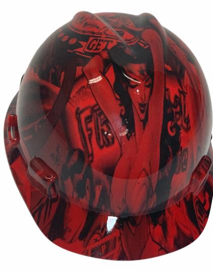 Red Wonder Woman MSA Cap Style