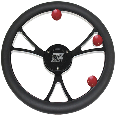 Custom RBZ Billet Racing Steering Wheel Classic 2.0 With 3 Buttons