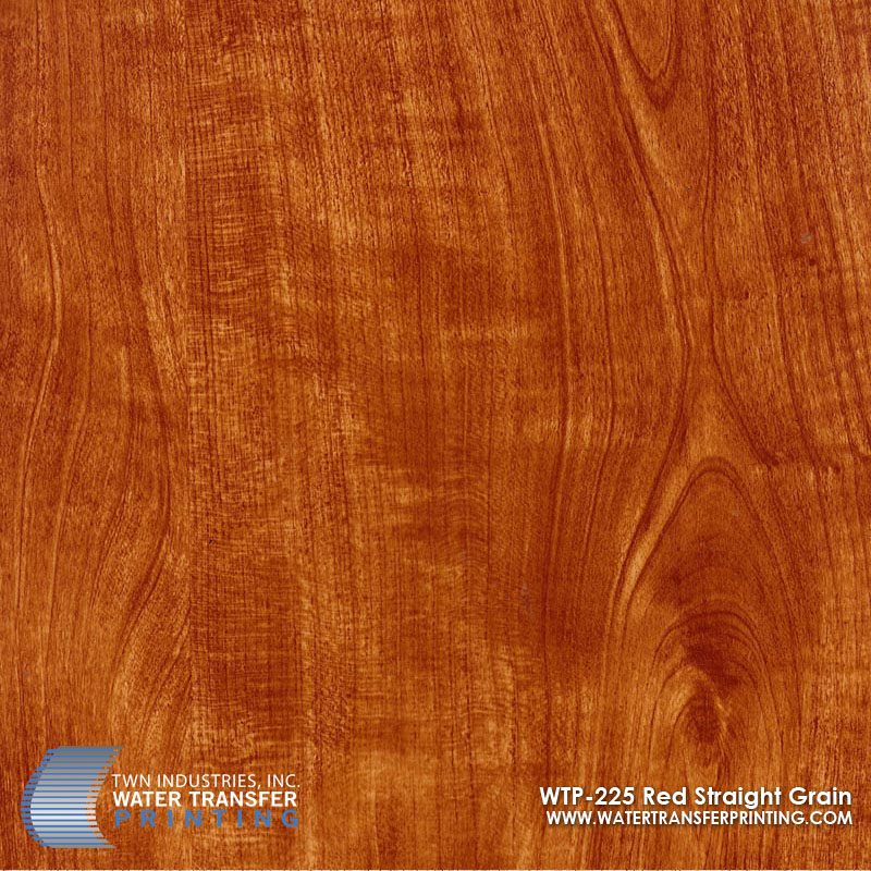 WTP-225 Red Straight Grain