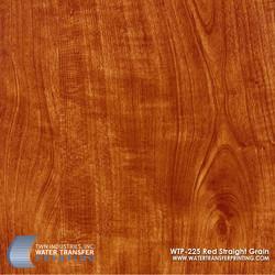 WTP-225 Red Straight Grain