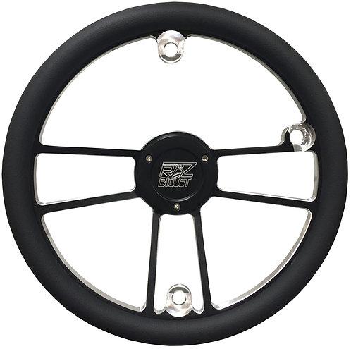 Custom RBZ Billet Racing Steering Wheel Custom 2 With 3 Button Holes