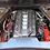 Thumbnail: Custom Hydro Dipped 2020+ Corvette Engine Cover  Carbon Fiber w carbon fiber let