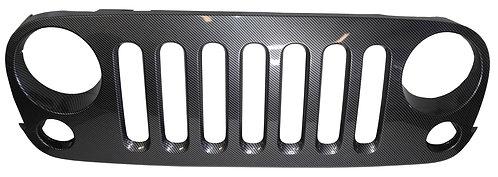 Carbon Fiber Jeep Grille