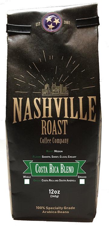 Nashville Roast Coffee Company Costa Rica Blend, Ground, 12 Oz Bag