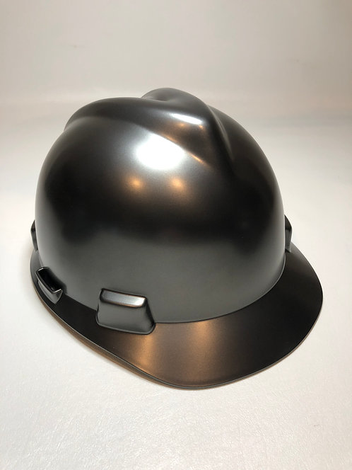 MSA Cap Style Metalic Graphite Satin