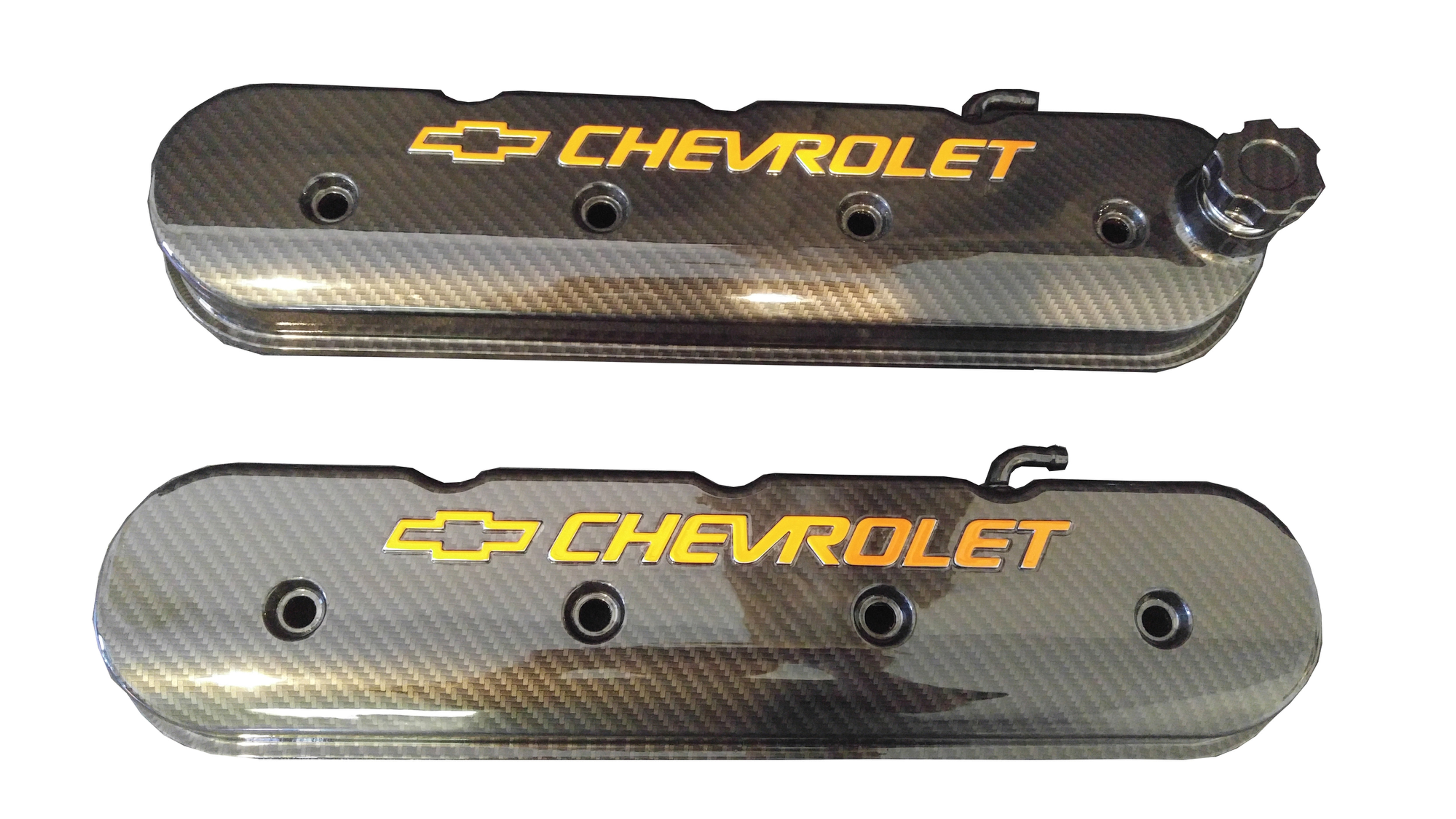 Tall Ls Valve Cover With Bowtie Chevrolet Logo Sport Carbon Fiber 241 400 Bagrbuck
