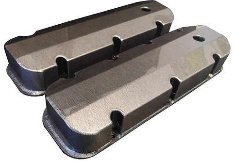 Chevy Big Block Hydro Dipped Stainless Steel Valve Covers Holley 241-280