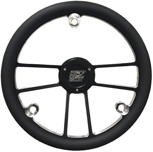 Custom RBZ Billet Racing Steering Wheel Custom 2 With 3 Button Holes Pt 2