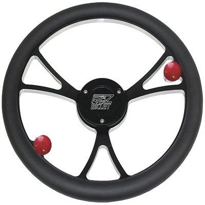 Custom RBZ Billet Racing Steering Wheel Classic 2.0 With 2 Buttons