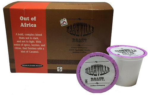 Nashville Roast Coffee Company Out of Africa, 12 Pk K-Cups