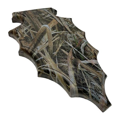 European Custom barn wood plaque blades black