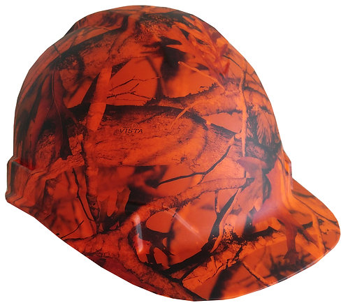 Matte Orange Vista Next Camo Hard Hat