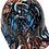 Thumbnail: Pinstripe Colored Skulls Bump Cap