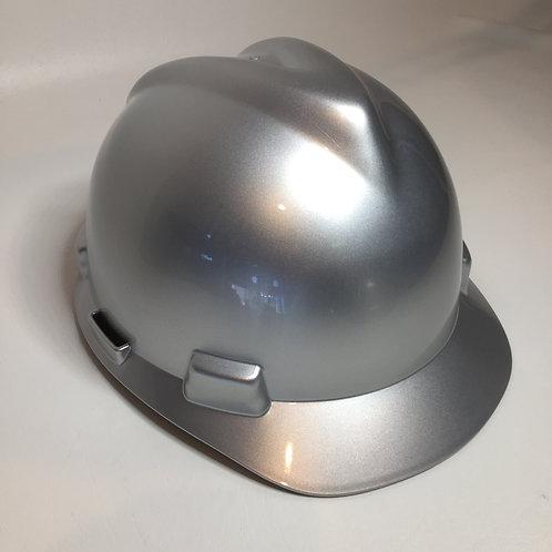 MSA Cap Style Silver Metalic