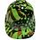 Thumbnail: Green American Flags Ridgeline Cap style Hard Hat