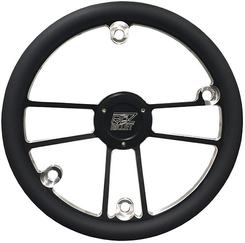 Custom RBZ Billet Racing Steering Wheel Custom 2 With 4 Button Holes