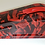 Thumbnail: B&M Shifter Cover Red American Flags Hydro dipped