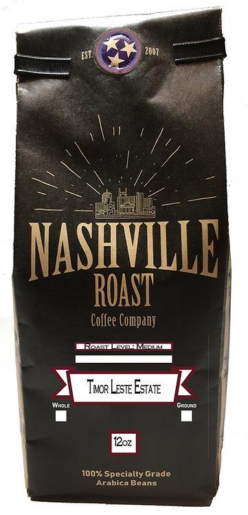 Nashville Roast Coffee Company Timor Leste Estate, Whole Bean, 12 Oz Bag
