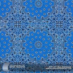WTP-271 Blue Bandana