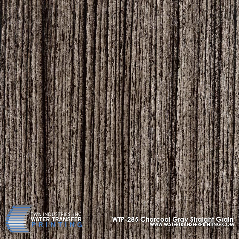 WTP-285 Charcoal Gray Straight Grain
