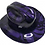 Thumbnail: Hard Hat Kimberly Clark Outlaw Plum Crazy Purple Midnight American Flags
