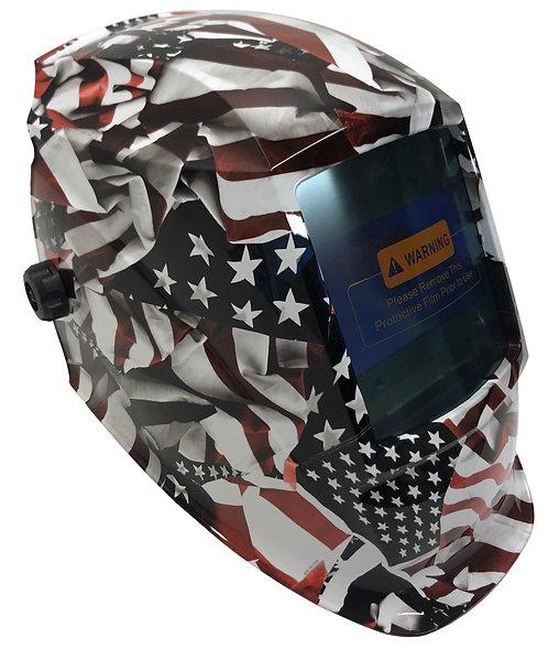 American Flag WHAD60 Pyramex Welding Helmet