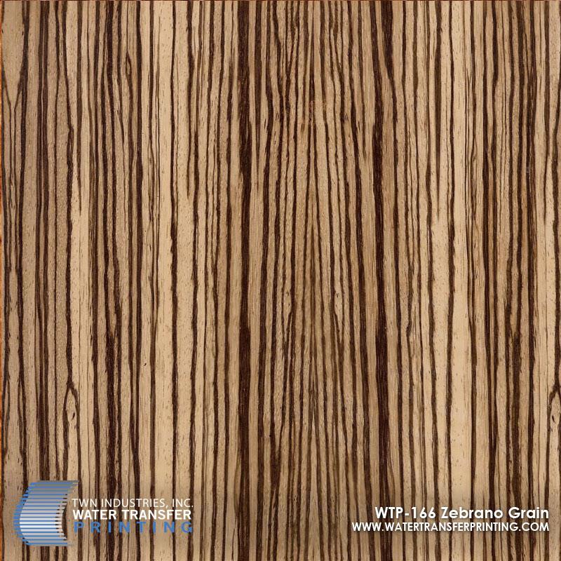 WTP-166 Zebrano Grain