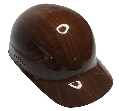 Brown Oak Bump Cap High Gloss