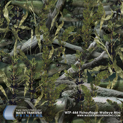 WTP-444 Fishouflage-Walleye Mini