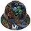 Thumbnail: Oil Slick Graffiti Ridgeline Full Brim High Gloss