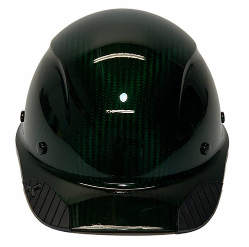 Translucent Green Lift Dax Carbon Fiber HDCC-17KG  Cap Style HardHat