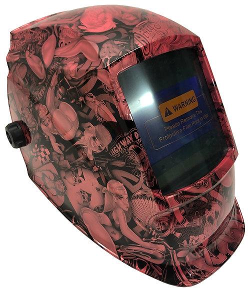 Pink Pearl Naughty Boy WHAD60 Series Pyramex Welding Helmet