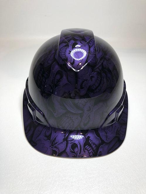 Plum Crazy Purple Insanity Skulls
