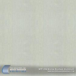 WTP-254 Bronze Brushed Aluminum