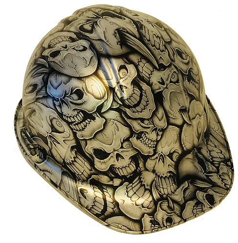 SL Series Silver Inasntiy Skulls