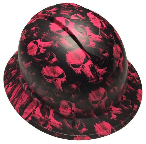 Ridgeline Full Brim Pink Punisher Satin