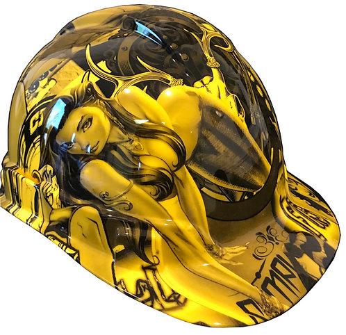 Yellow Wonder Woman Hard Hat